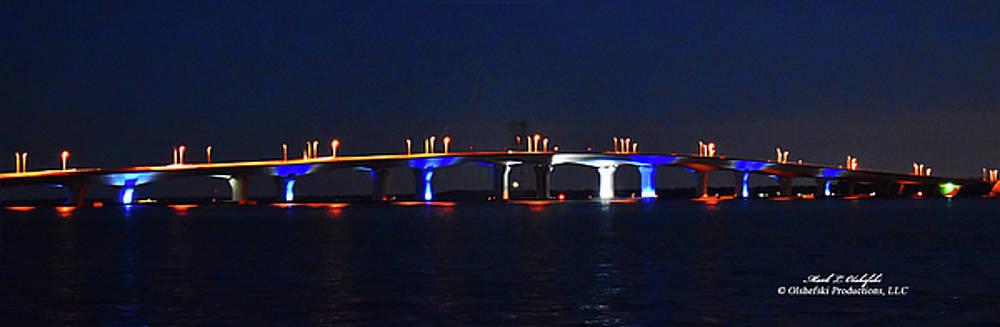 Bridge Over Calm Waters by Mark Olshefski
