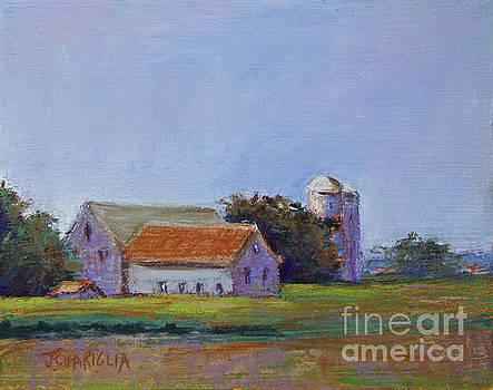 Bucks County Barn by Joyce A Guariglia