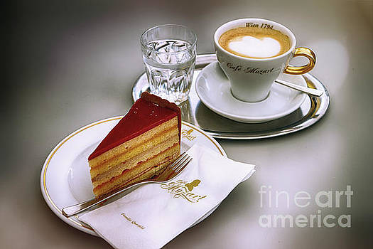 Cake and Espresso by George Oze