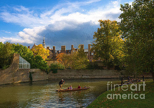 Cambridge punting by Andrew Michael