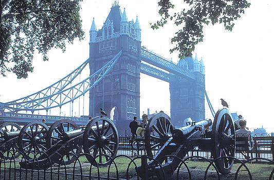 Canons at Tower Bridge by Carl Purcell
