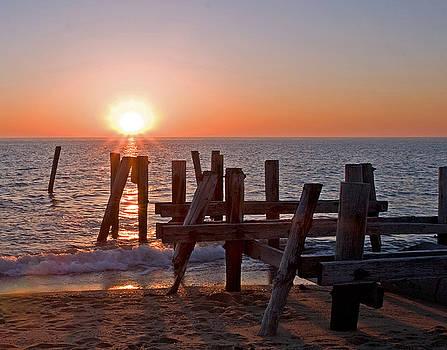 Cape May Sunset by Robert Pilkington