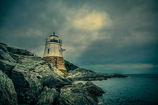 Castle Hill Lighthouse by Jerri Moon Cantone