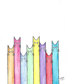 Cats by Edwin Alverio