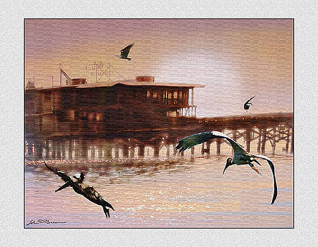 Cedar Key J and B by John Breen