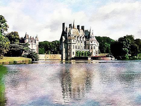 Chateau de la Bretesche, Missillac, France by Joseph Hendrix