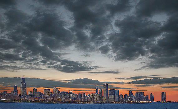 Chicago skyline by Jim Wright