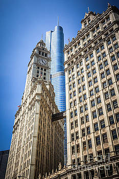 Paul Velgos - Chicago Trump Tower and Wrigley Building