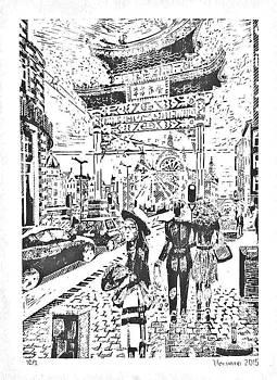 China Town In Antwerpen by Varvara Stylidou