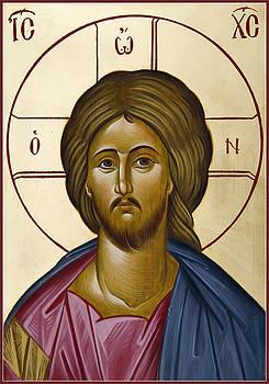 Christ Pantokrator by Julia Bridget Hayes