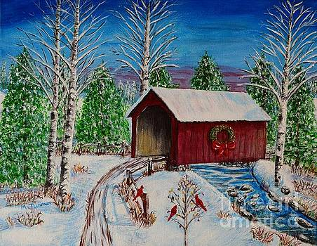 Christmas Bridge by Melvin Turner