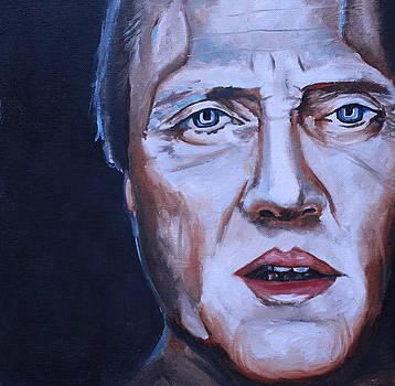 Christopher Walken Portrait by Mikayla Ziegler