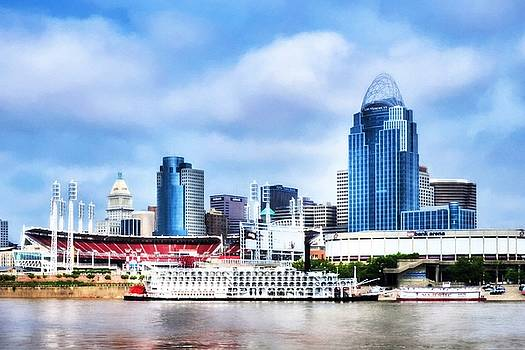 Mel Steinhauer - Cincinnati On The Ohio River # 2