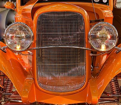 Classic Antique Car by John Babis