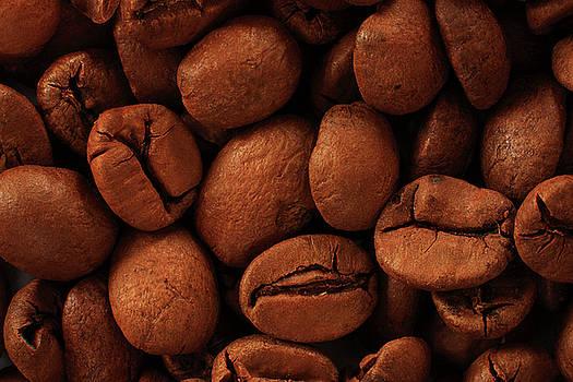 Coffee beans by Jouko Mikkola