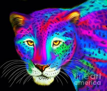 Nick Gustafson - Colorful Jaguar