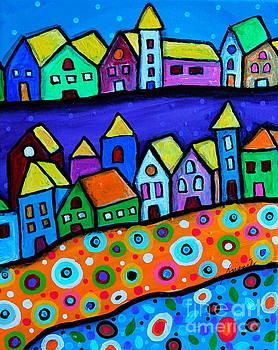 PRISTINE CARTERA TURKUS - Colorful Town