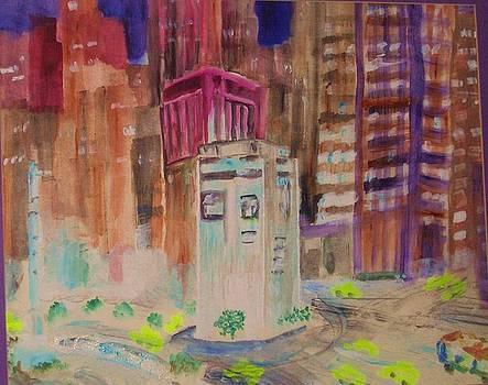 Columbus Circle NYC by Jack Donahue
