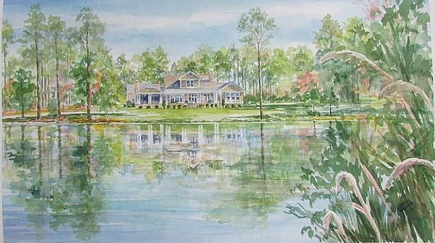 Commissioned Home Portrait by Gloria Turner