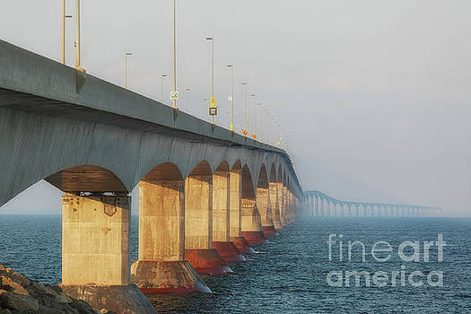 Confederation Bridge by Verena Matthew
