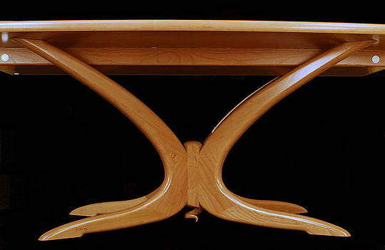 Confluence dining table by Scott Reuman