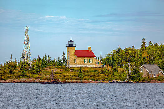 Jack R Perry - Copper Harbor Light Station