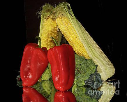 Corn With Vegetables by Elvira Ladocki