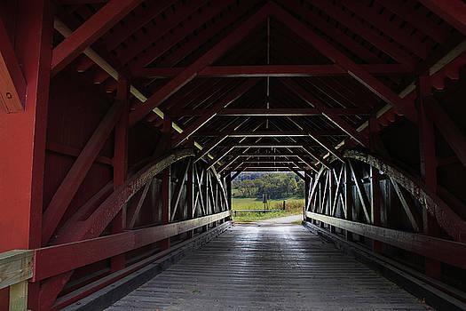 Covered Bridge by Randy Bayne