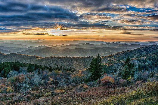Cowee Sunset by Donnie Smith