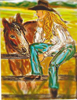 Cowgirl by Desline Vitto