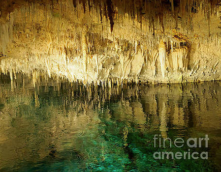 Crystal Cave in Hamilton Parish Bermuda by Louise Heusinkveld