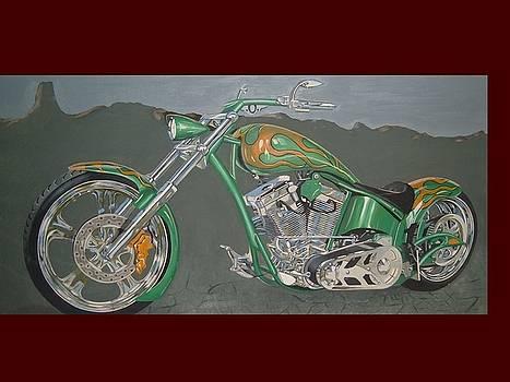 Custom Chopper by Brandon Ramquist