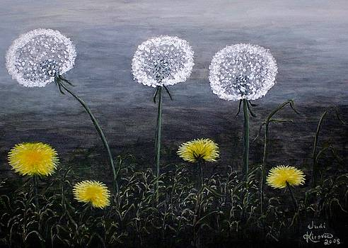 Dandelion Family by Judy Kirouac