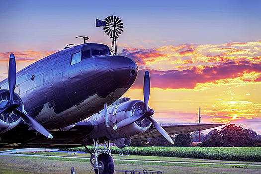 DC-3 Massey Air Museum by Brian Wallace