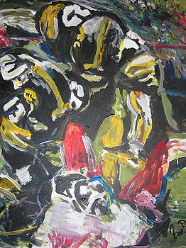 Jon Baldwin  Art - Defense Depiction Number One