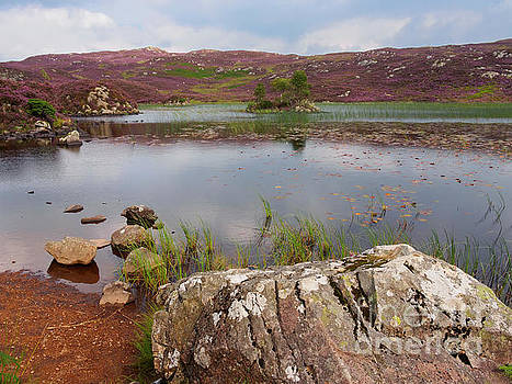 Dock Tarn and Watendlath Fell in the Lake District by Louise Heusinkveld
