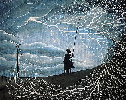 Don Quijote by Edwin Alverio