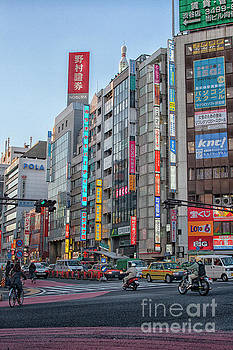 Downtown Tokyo by Patricia Hofmeester