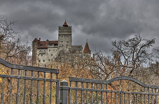Dracula's Castle Transilvania in HDR by Matthew Bamberg