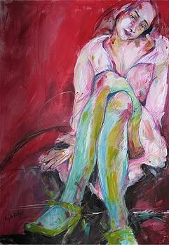 Dreamy Girl by Brigitte Hintner