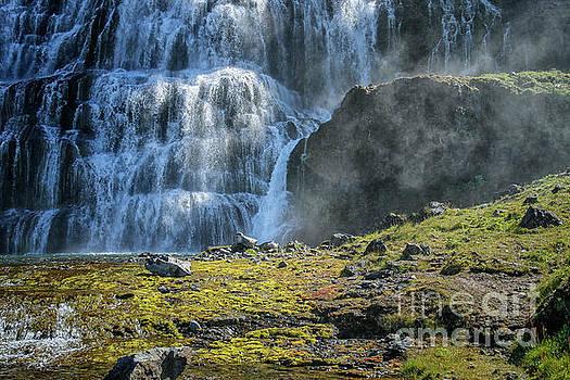 Dynjandi waterfalls in Iceland by Patricia Hofmeester