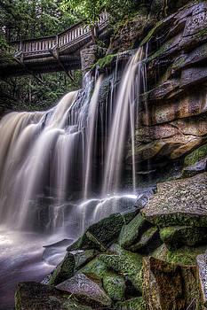 Elakala Falls #4 by Dan Girard