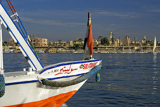 Michele Burgess - Felucca on the Nile