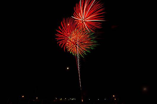 Fireworks by Riddhish Chakraborty