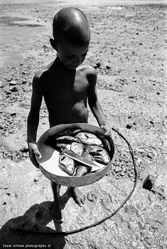 Isaac Silman - Fisherman Child Sinai Egypt