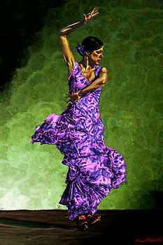 Flamenco Dancer by Bruce Nutting