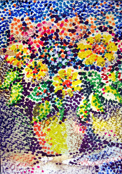 Flores Amarillos by Bill Meeker