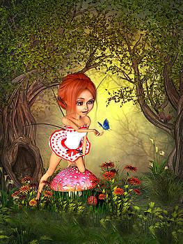 Forest Love Fairy by John Junek