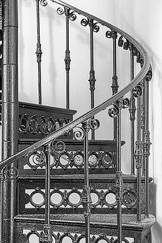 Forged Iron Stairs Design by Nick Mares
