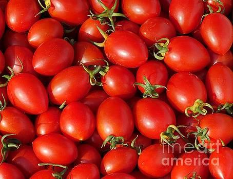 Fresh Cherry Tomatoes by Yali Shi